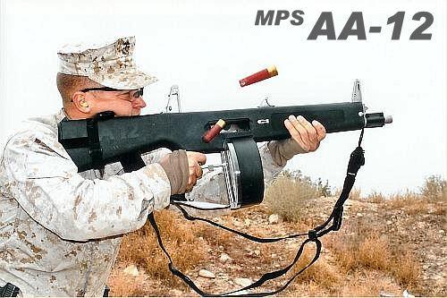 AA12 フルオートショットガン