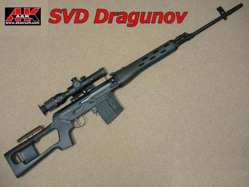 A&K SVD ドラグノフ スプリングエアー