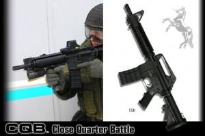 タニオコバ M4 AKS74U GBB