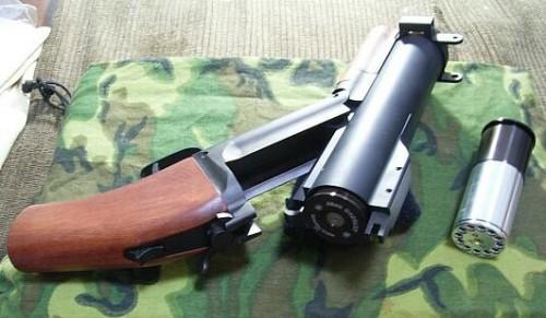 caw m79 ソウドオフ グレネードランチャー