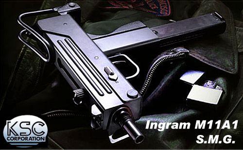 KSC イングラム M11A1 ガスブローバックSMG