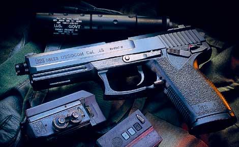 KSC ソーコム Mk23 コマーシャル ABSスライドモデル