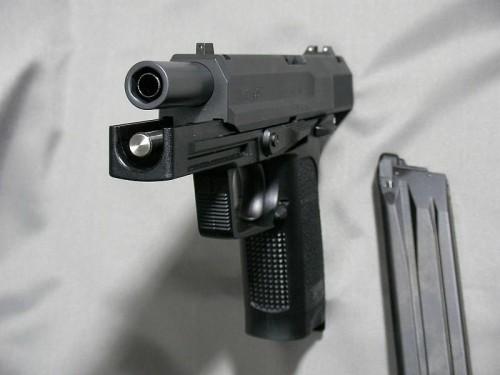 KSC H&K USP.45 ブラックスチール塗装