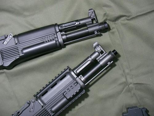 東京マルイ AK102 マズル比較