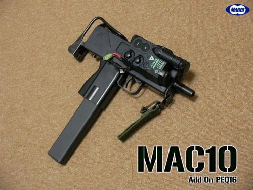 東京マルイ mac10 peq16