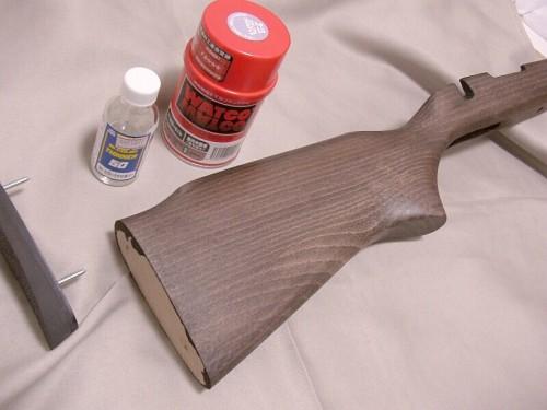 東京マルイ VSR-10 木製ストック