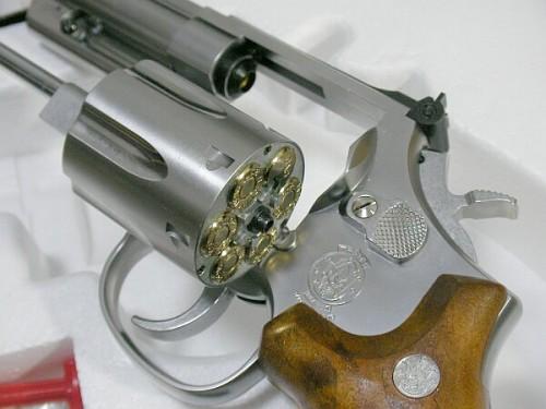 タナカ S&W M66 4インチ