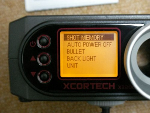 XCORTECH X3200 BB弾 弾速計