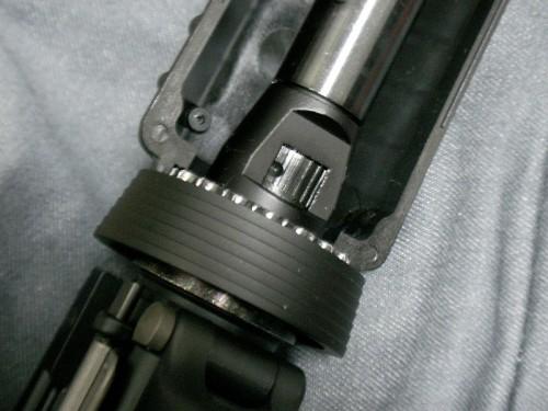WA M4 CQB-R ホップ調整ダイヤル