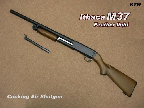 KTW イサカ M37 フェザーライト