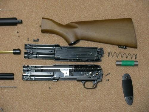KTW イサカ M37 フェザーライト 分解