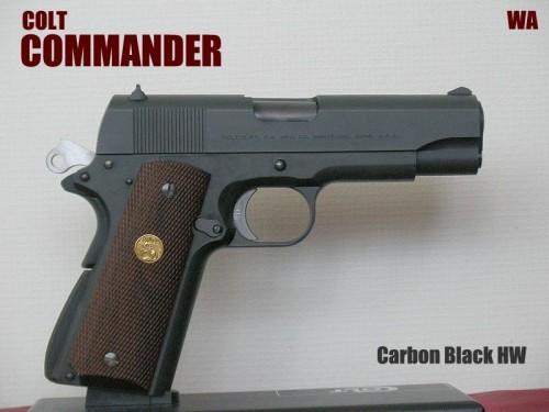 WA コマンダー カーボンブラック HW