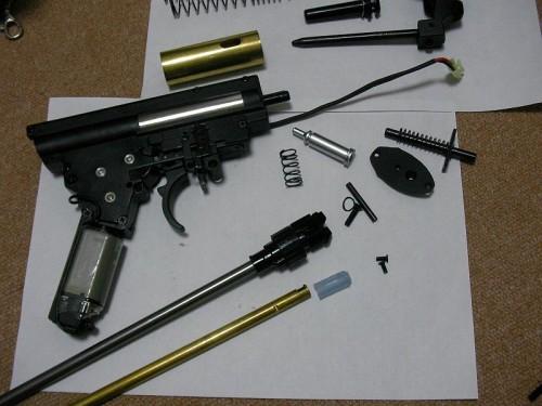 ARES H&K G36C シミュレーター チューニング