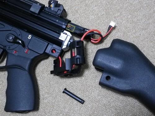 KSC HK53A2 バッテリー交換