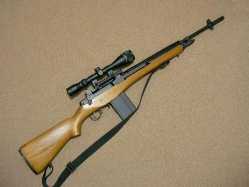 M14 木製ストック & スコープ