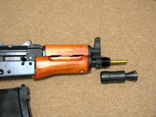 WE AK74UN クリンコフ マズル