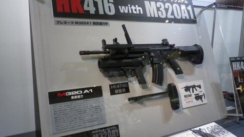 HK416D with M320A1