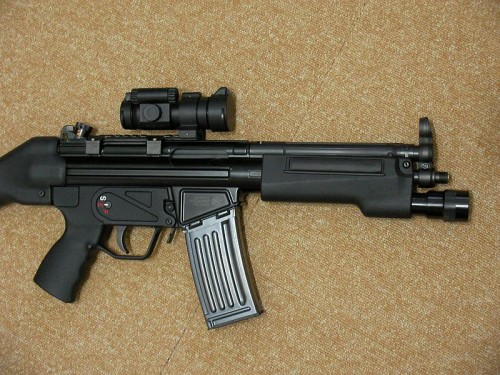 KSC HK53 ライト&ハンドガード